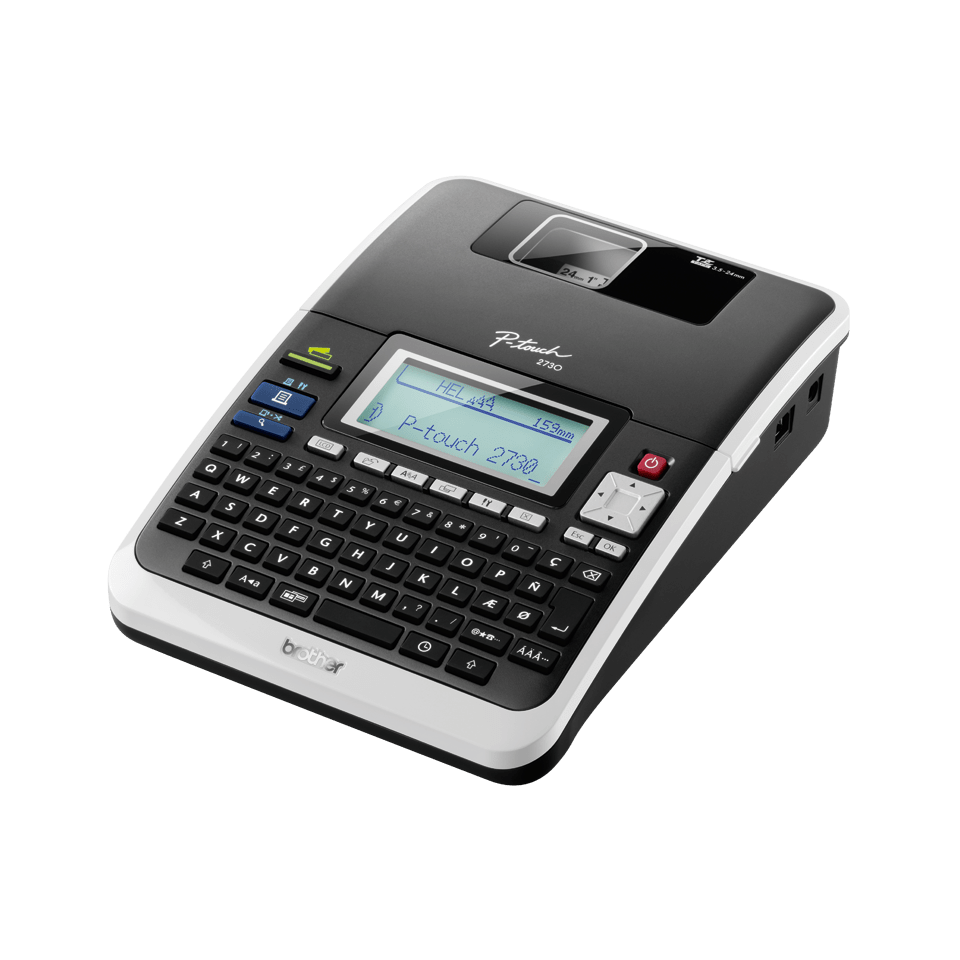 Brother P Touch Pt 2730vp Electronic Label Maker