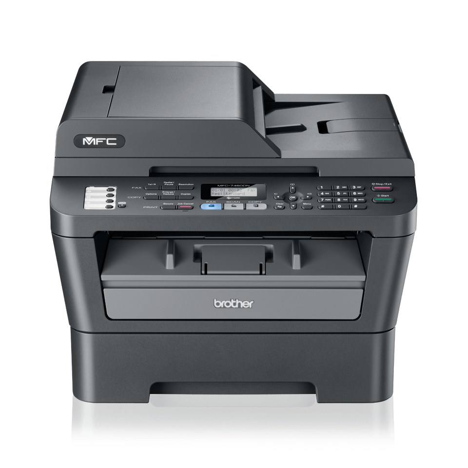 mono laser all in one printer brother mfc 7460dn rh brother ie brother mfc 7460dn manual español brother mfc7460dn driver download