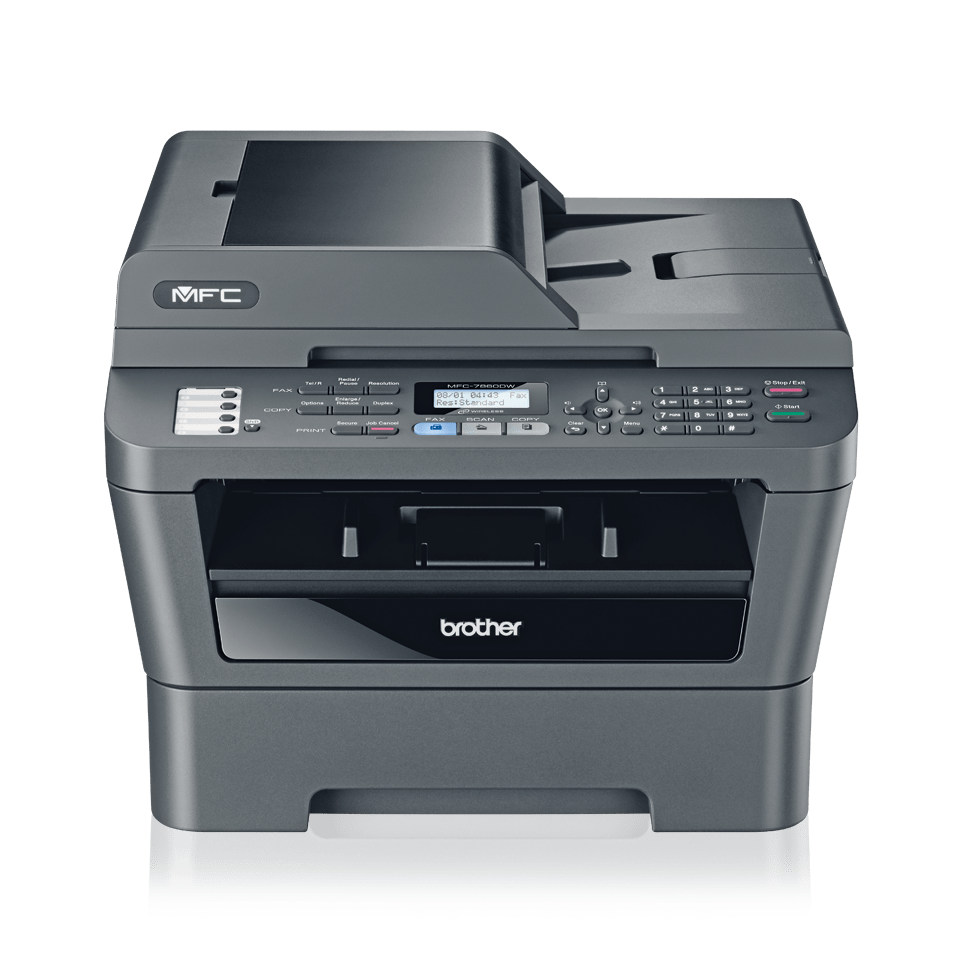 Mono Laser All In One Printer Brother Mfc 7860dw