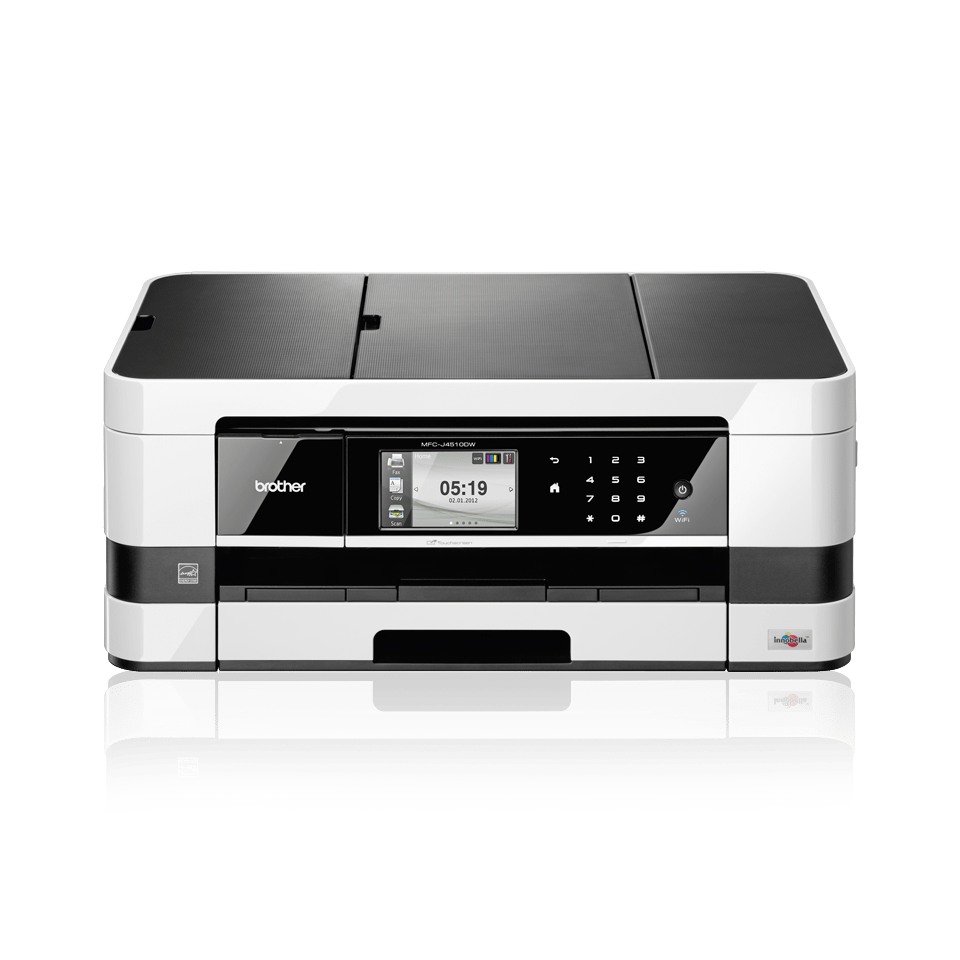 Wireless A3 Colour Inkjet Fax Printer | Brother MFC-J4510DW