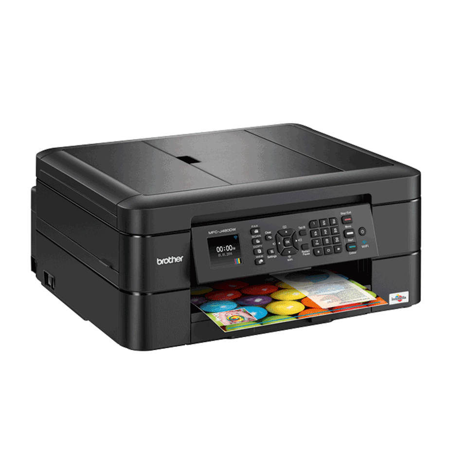 MFC-J480DW Colour All-In-One Inkjet Printer | Brother