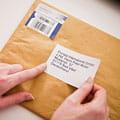 Labelled letter
