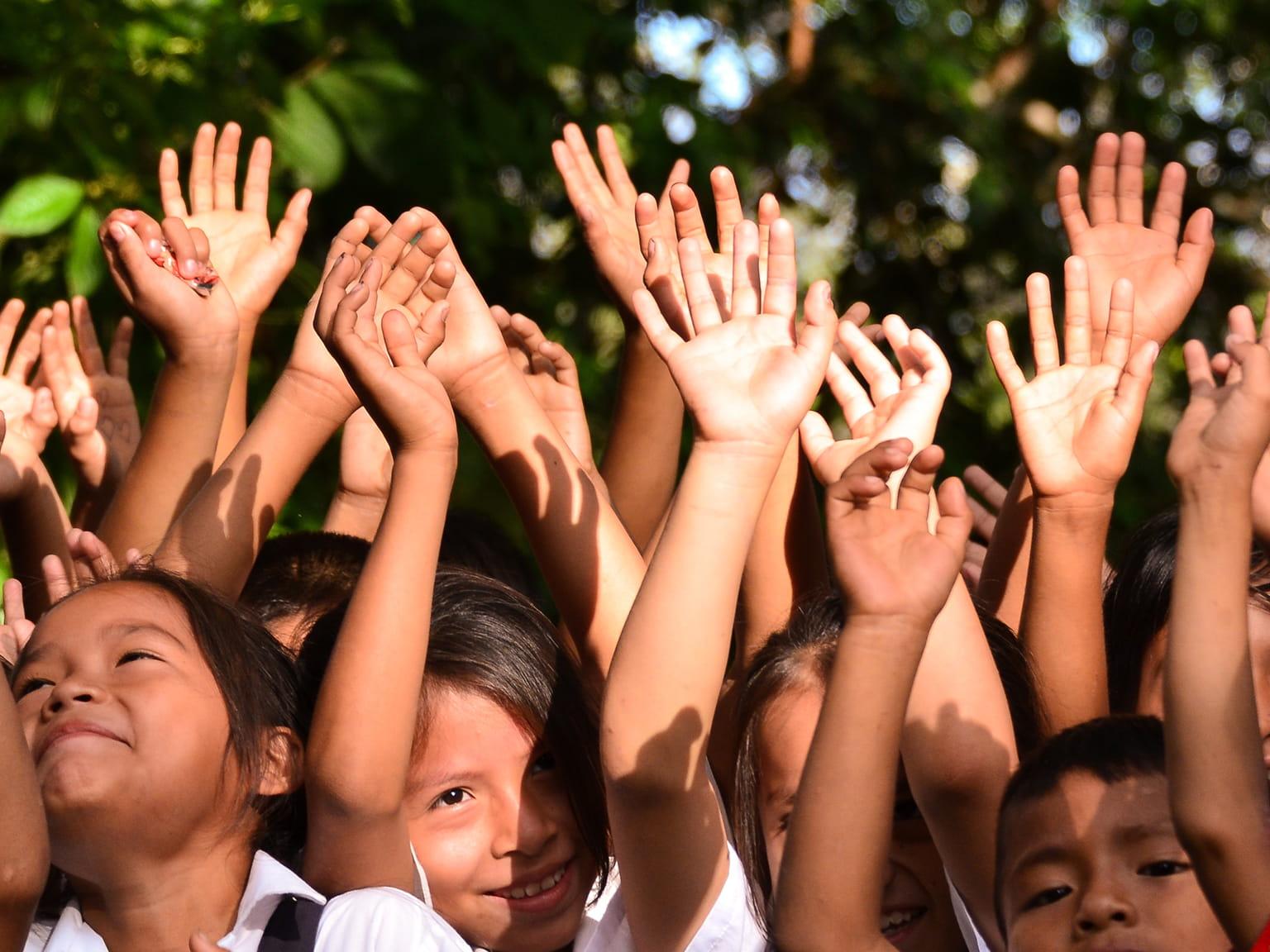 Values Hands Children School Happy Smile