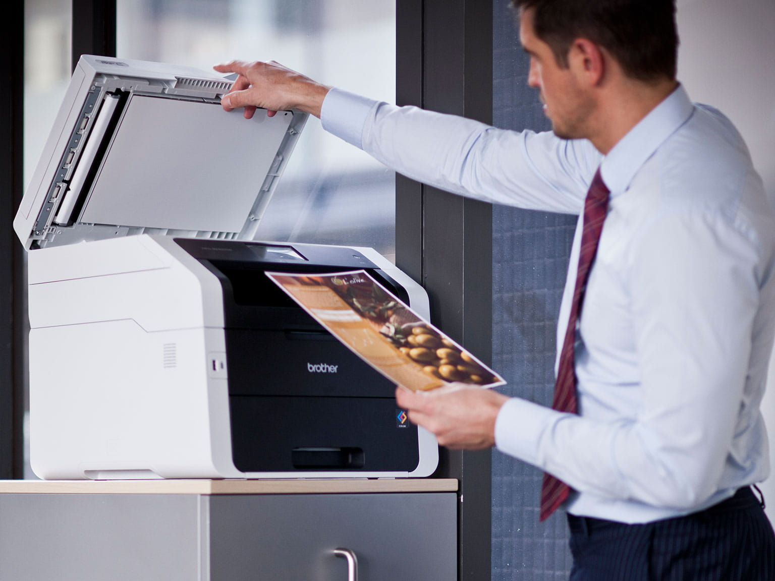 large business scan to solutions