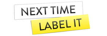 Next time label it text