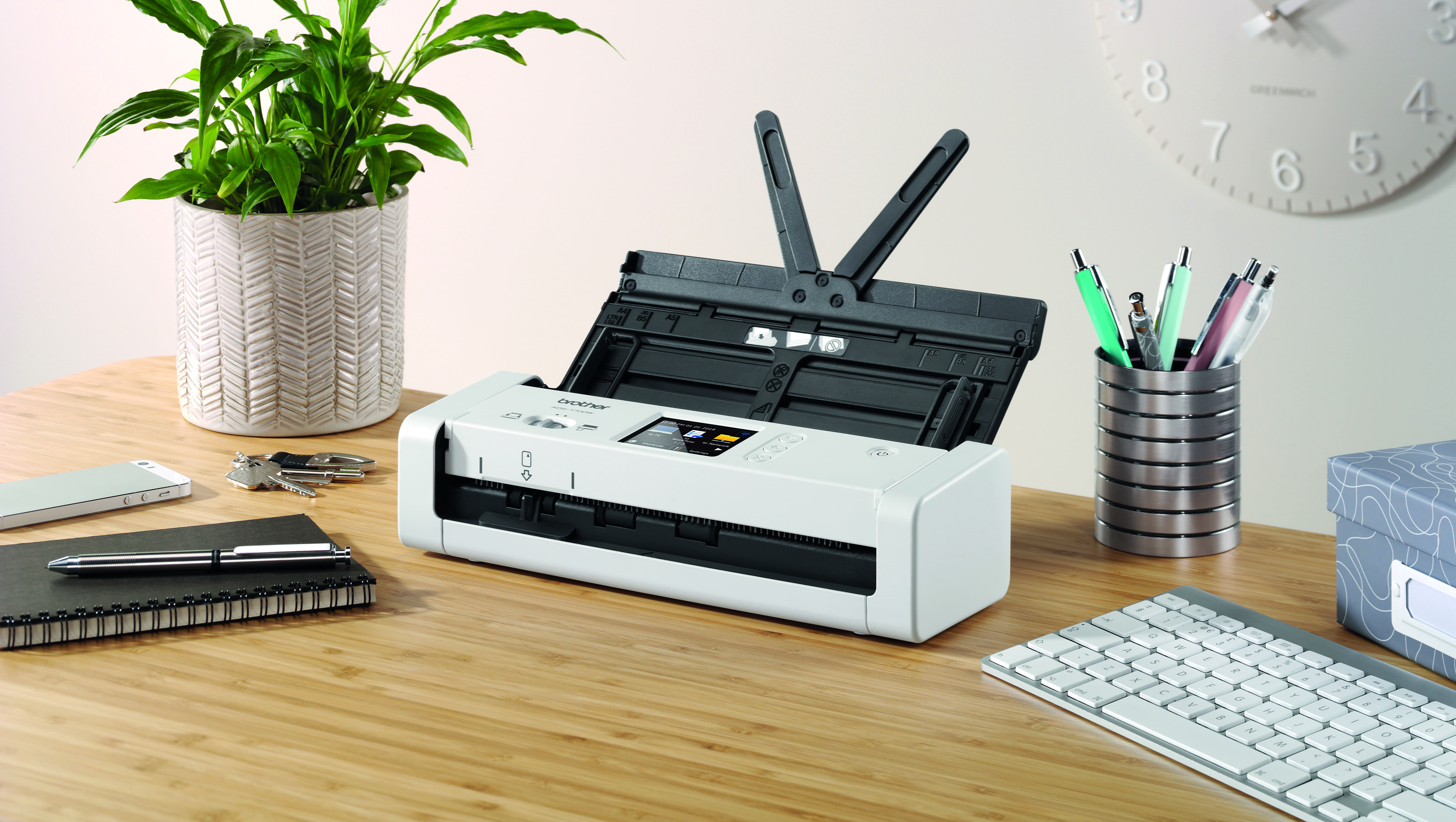 Small yet powerful scanner duo meets the needs of modern business ADS-1700W