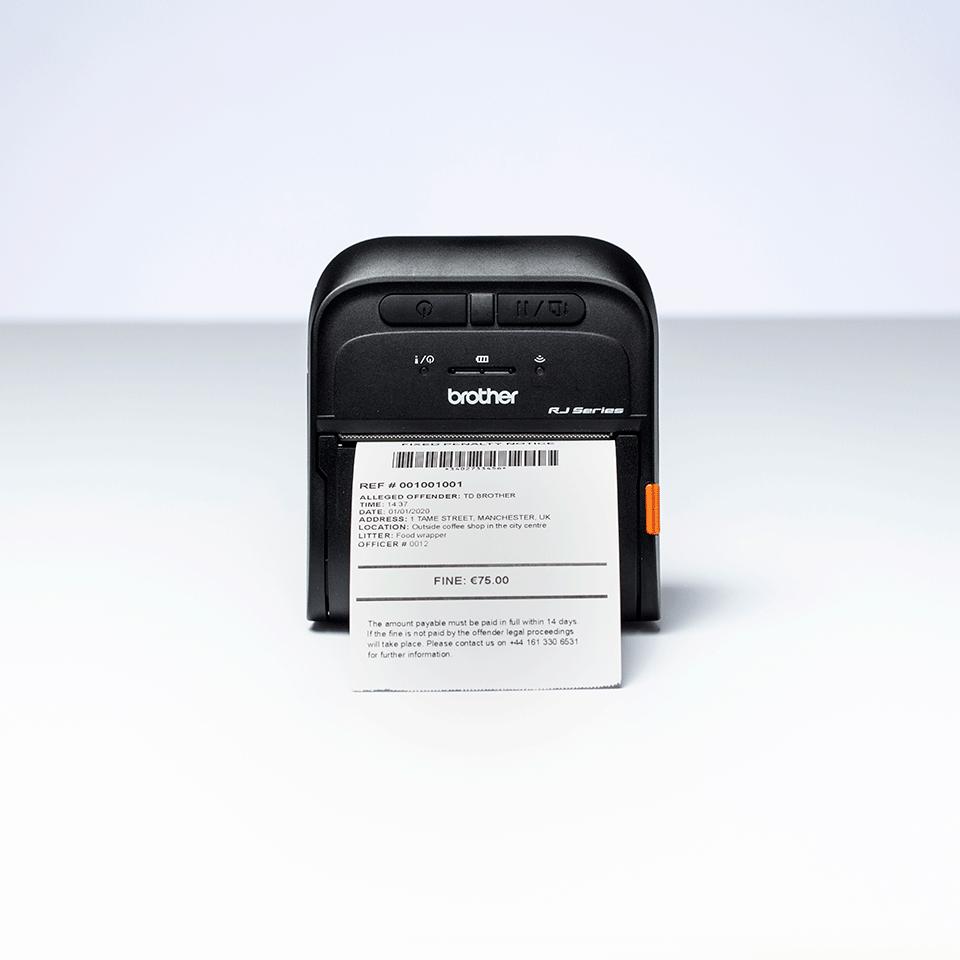 Brother RJ-3035B Mobile Receipt Printer 5