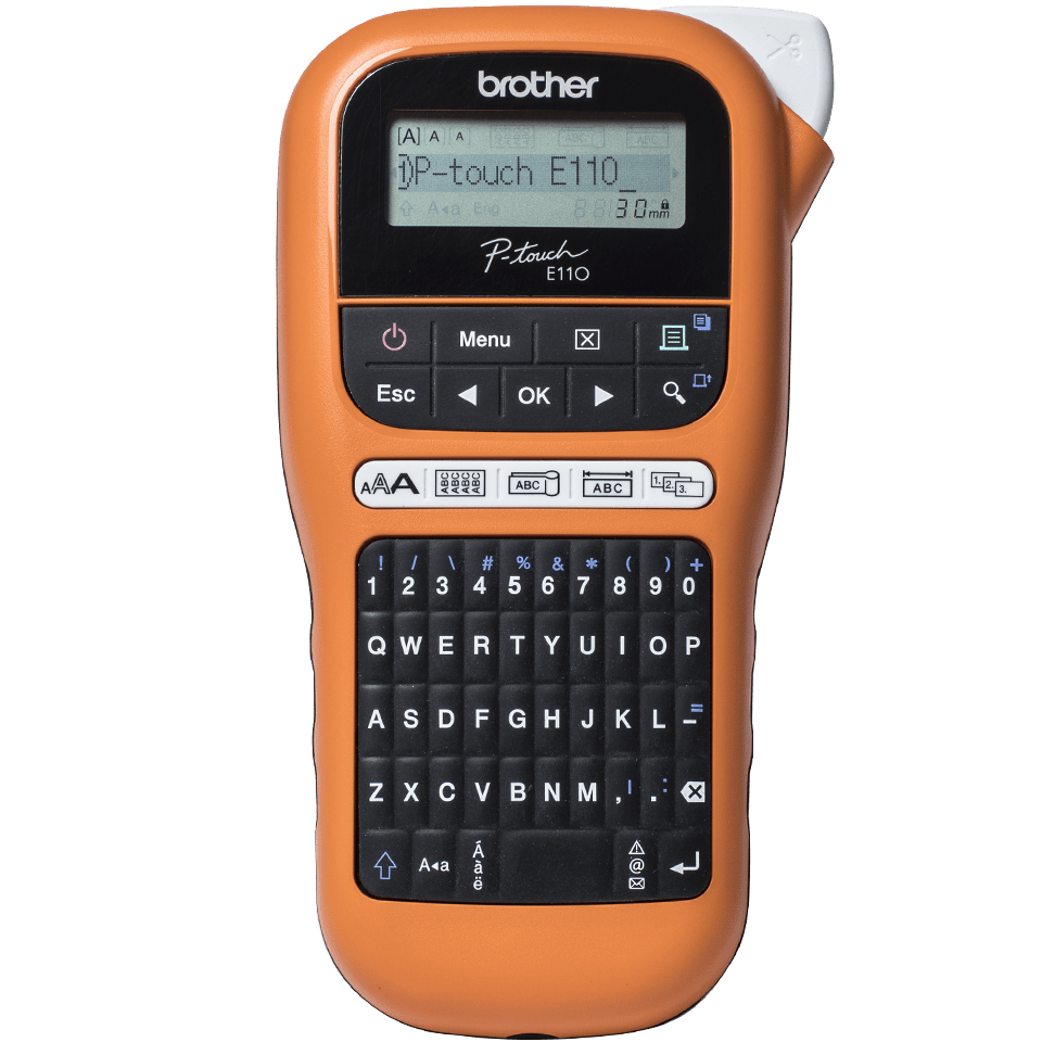 Brother P-touch PT-E110VP electrician labelling machine