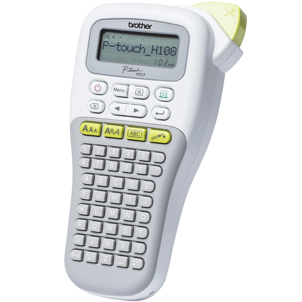 P-touch PT-H108G Handheld Label Printer 1