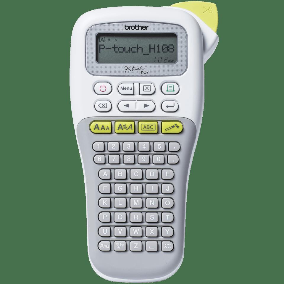 P-touch PT-H108G Handheld Label Printer