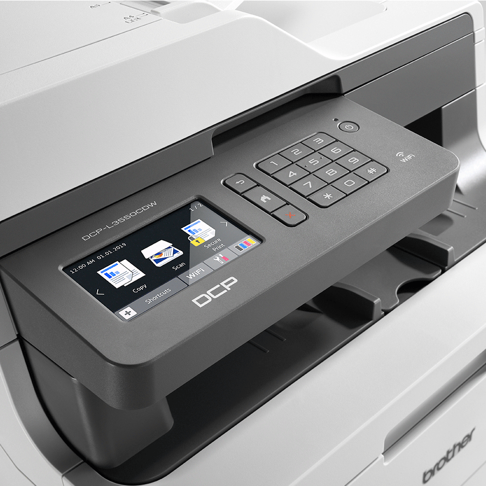 DCP-L3550CDW Colour Wireless LED 3-in-1 Printer  4