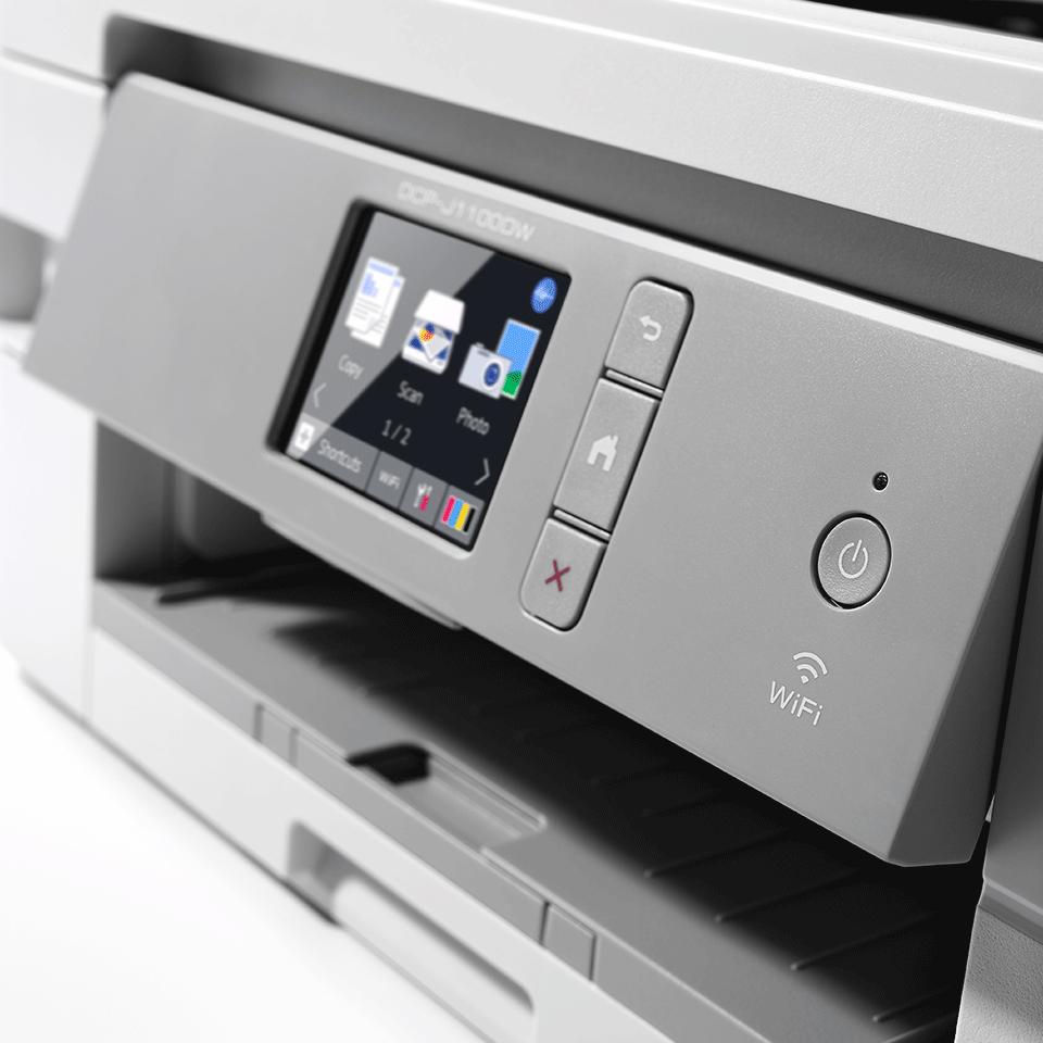 DCP-J1100DW Wireless 3-in-1 Colour Inkjet Printer All In Box 5