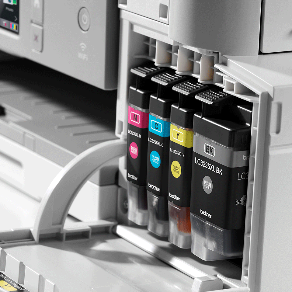 DCP-J1100DW Wireless 3-in-1 Colour Inkjet Printer All In Box 6