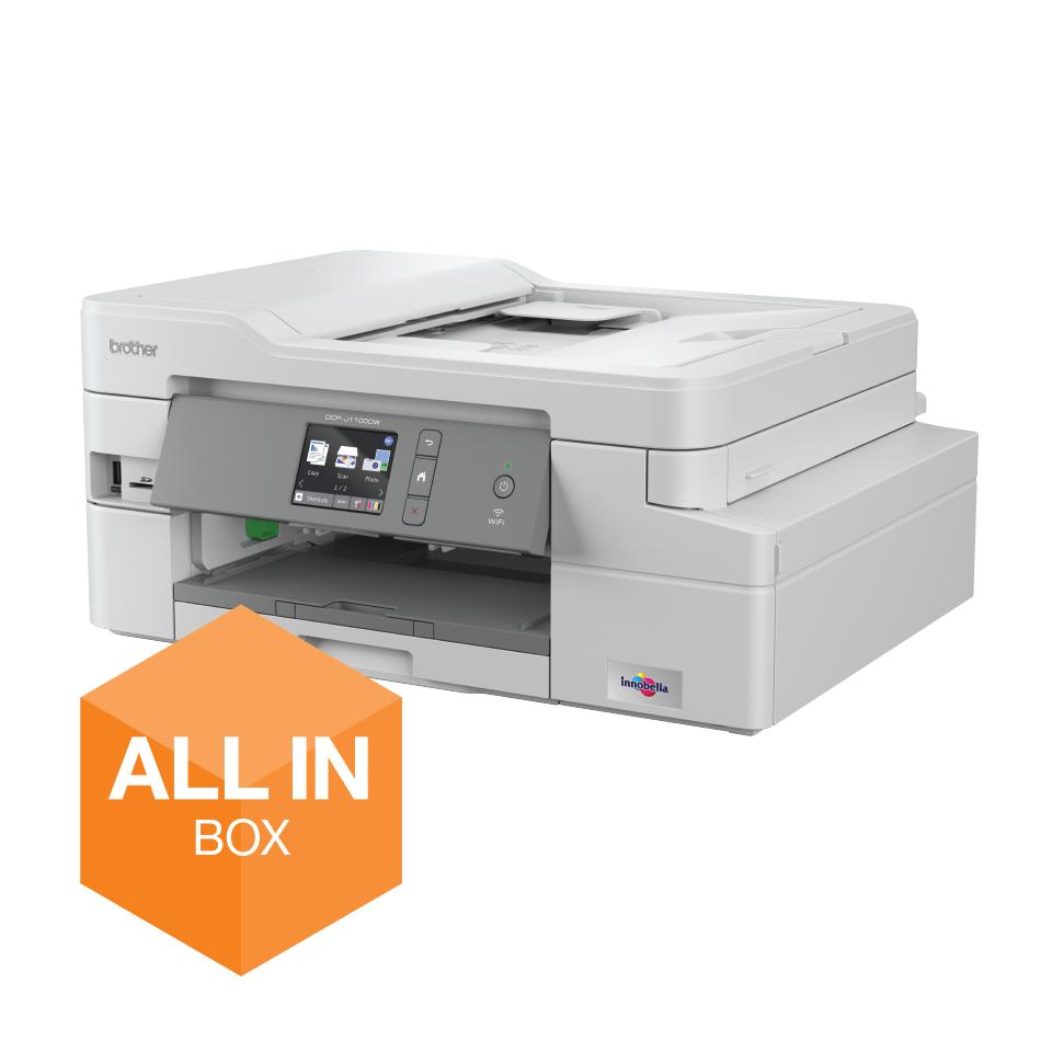DCP-J1100DW Wireless 3-in-1 Colour Inkjet Printer All In Box