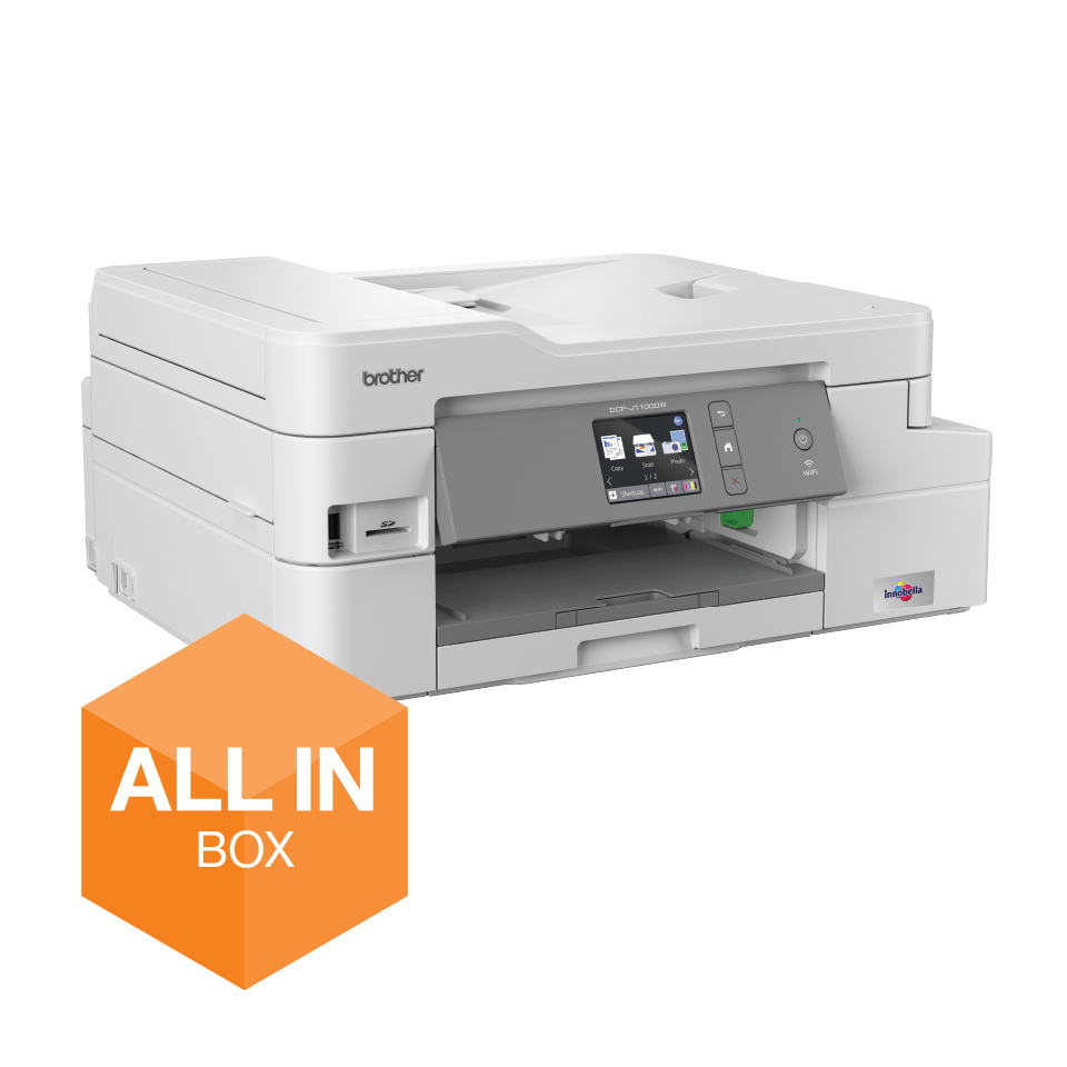 DCP-J1100DW Wireless 3-in-1 Colour Inkjet Printer All In Box 2