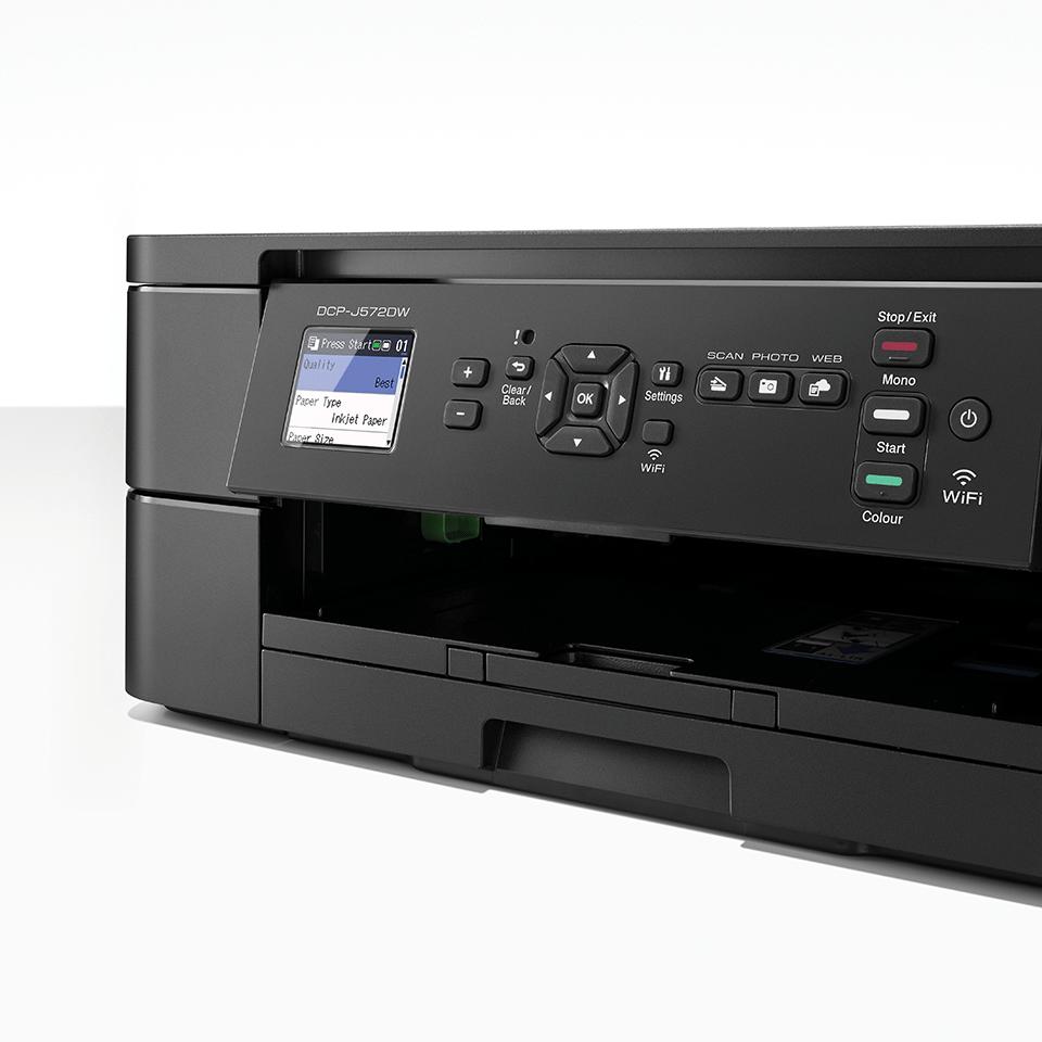 Wireless 3-in-1 Colour Inkjet Printer DCP-J572DW 6