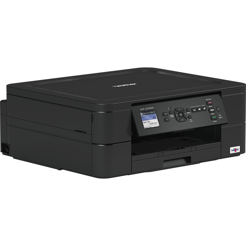 Wireless 3-in-1 Colour Inkjet Printer DCP-J572DW 2
