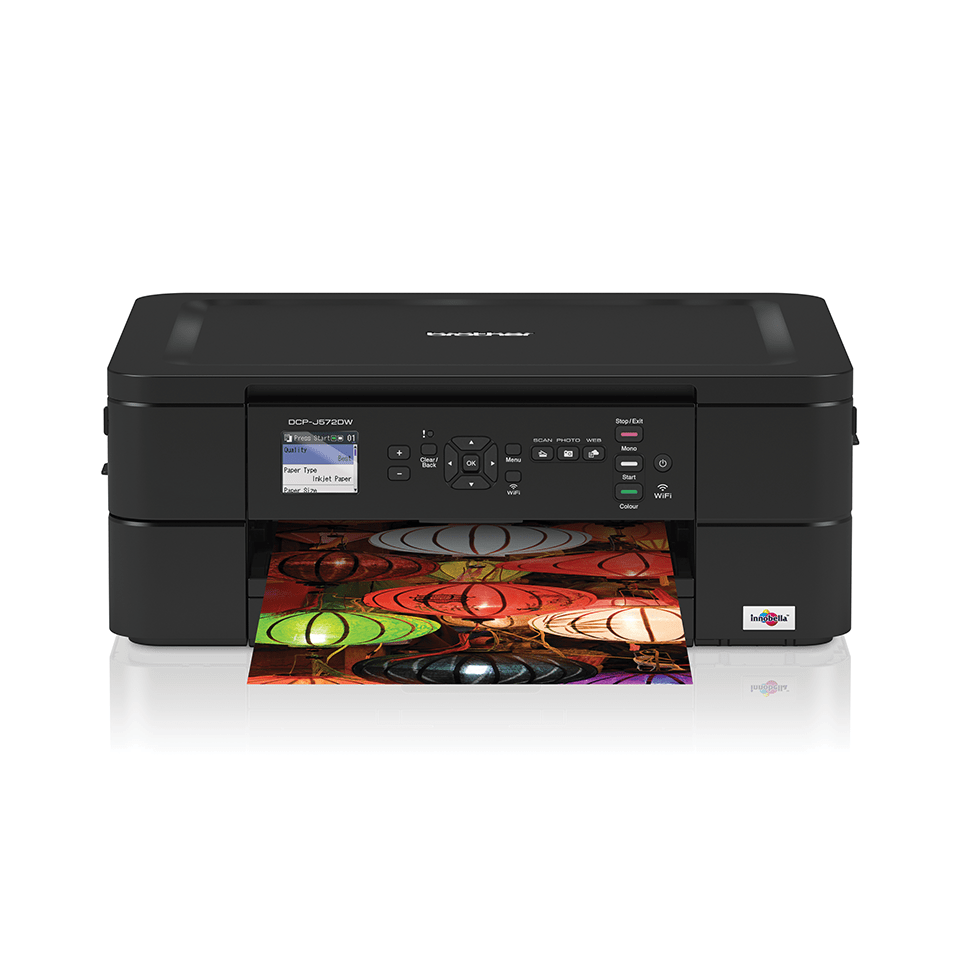 Wireless 3-in-1 Colour Inkjet Printer DCP-J572DW 7