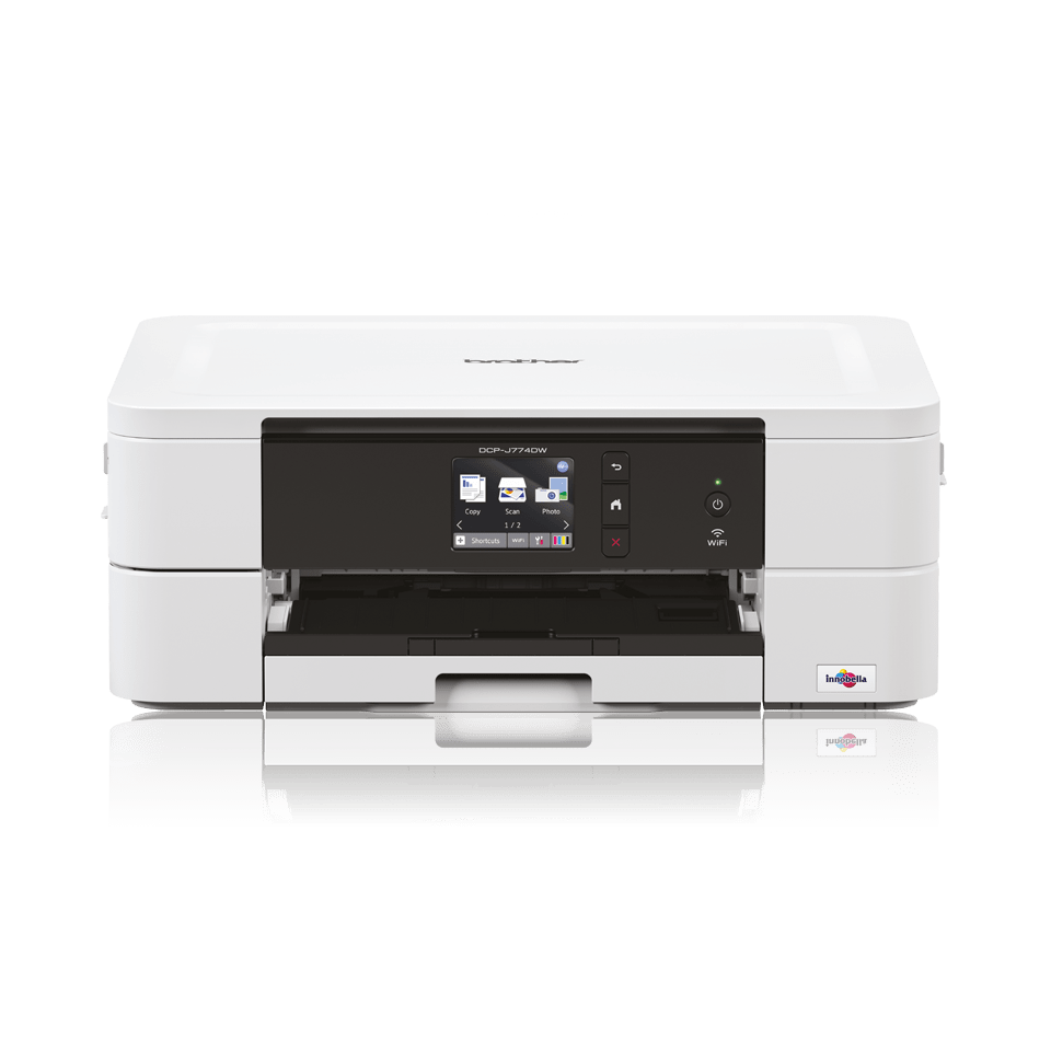 Wireless 3-in-1 colour inkjet printer DCP-J774DW