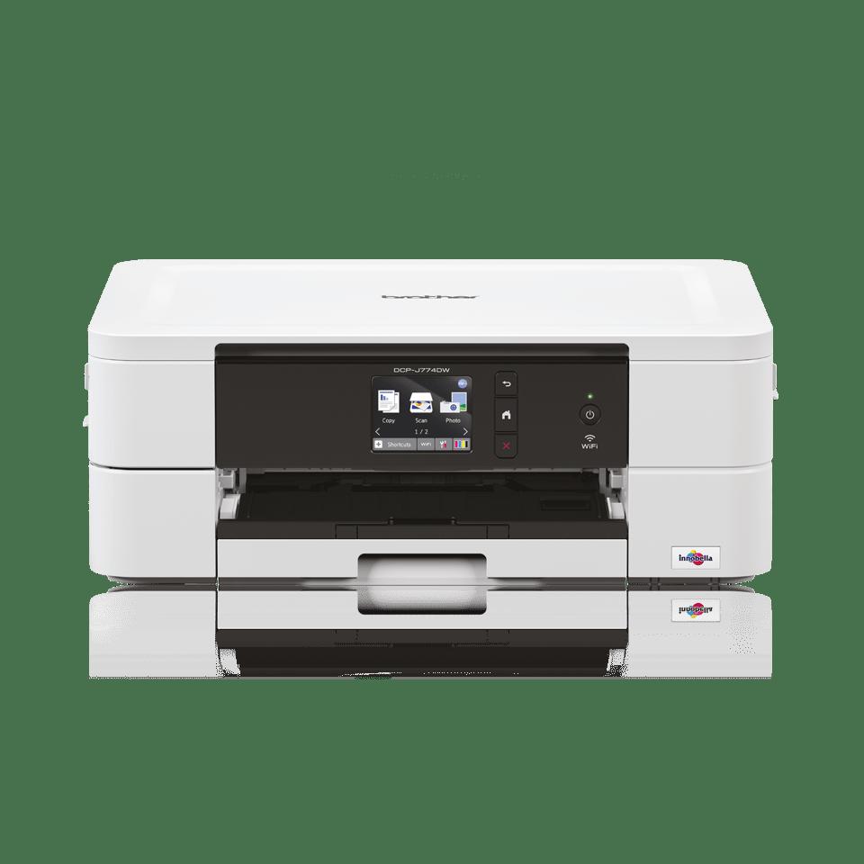 Wireless 3-in-1 colour inkjet printer DCP-J774DW 6