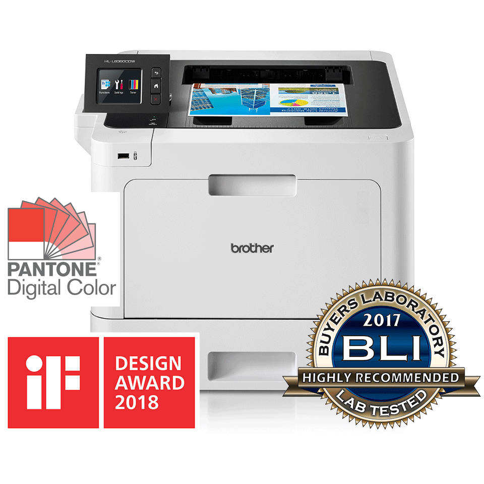 Brother HL-L8360CDW Colour Laser + Duplex and Wireless 0