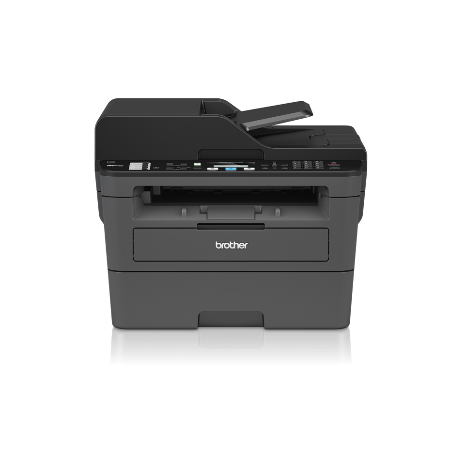 Compact Wireless 4-in-1 Mono Laser Printer - Brother MFC-L2710DW