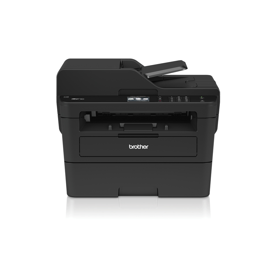 Compact Wireless 4-in-1 Mono Laser Printer - Brother MFC-L2730DW  2