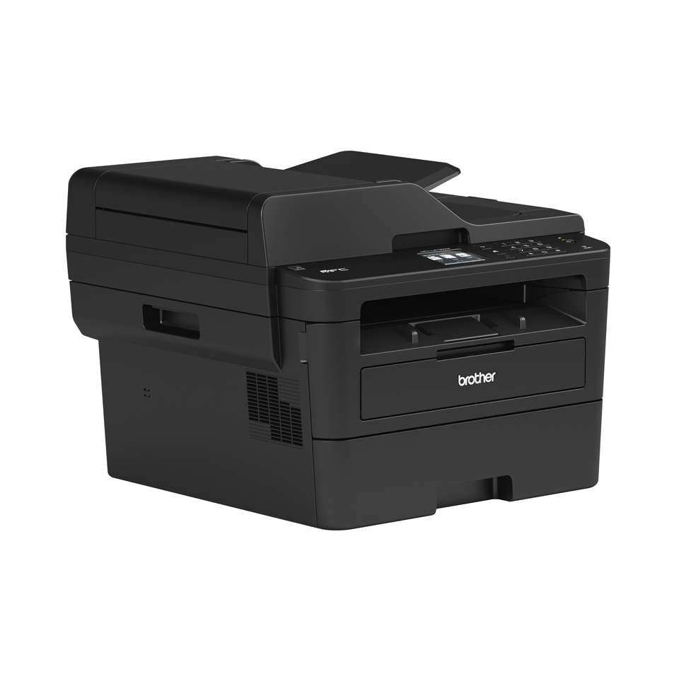 Compact Wireless 4-in-1 Mono Laser Printer - Brother MFC-L2730DW  3