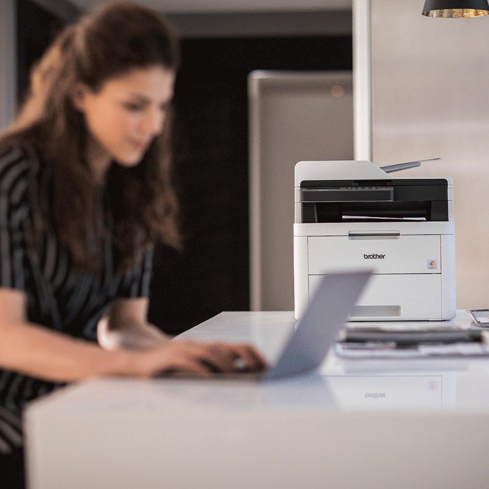 MFC-L3730CDN Colour Network LED 4-in-1 Printer 4