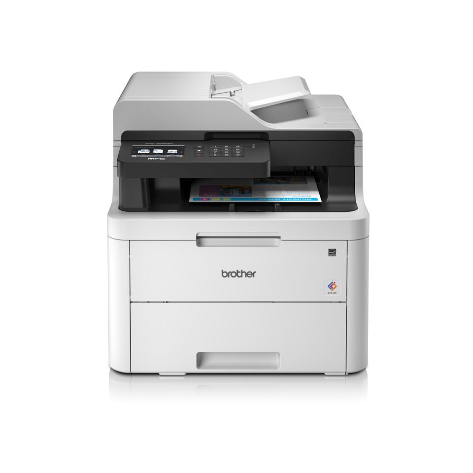 MFC-L3730CDN Colour Network LED 4-in-1 Printer