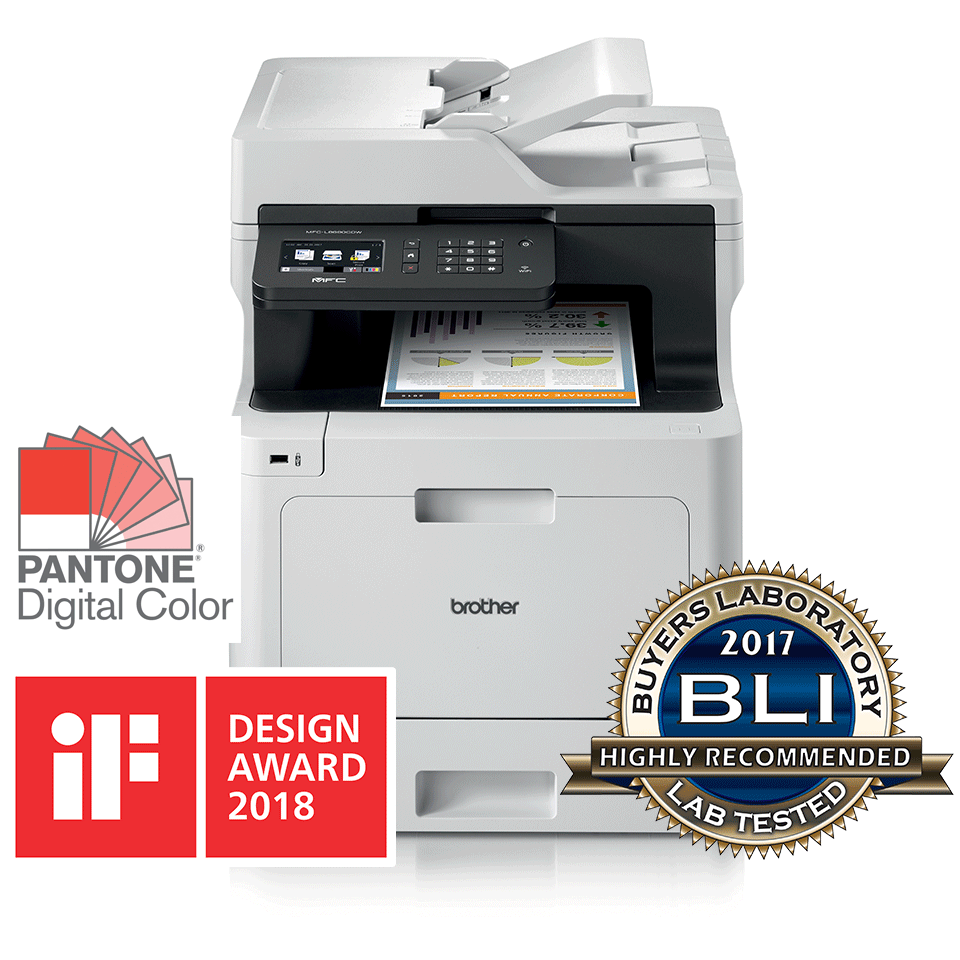 Brother MFC-L8690CDW Colour All-in-One + Duplex and Wireless 2