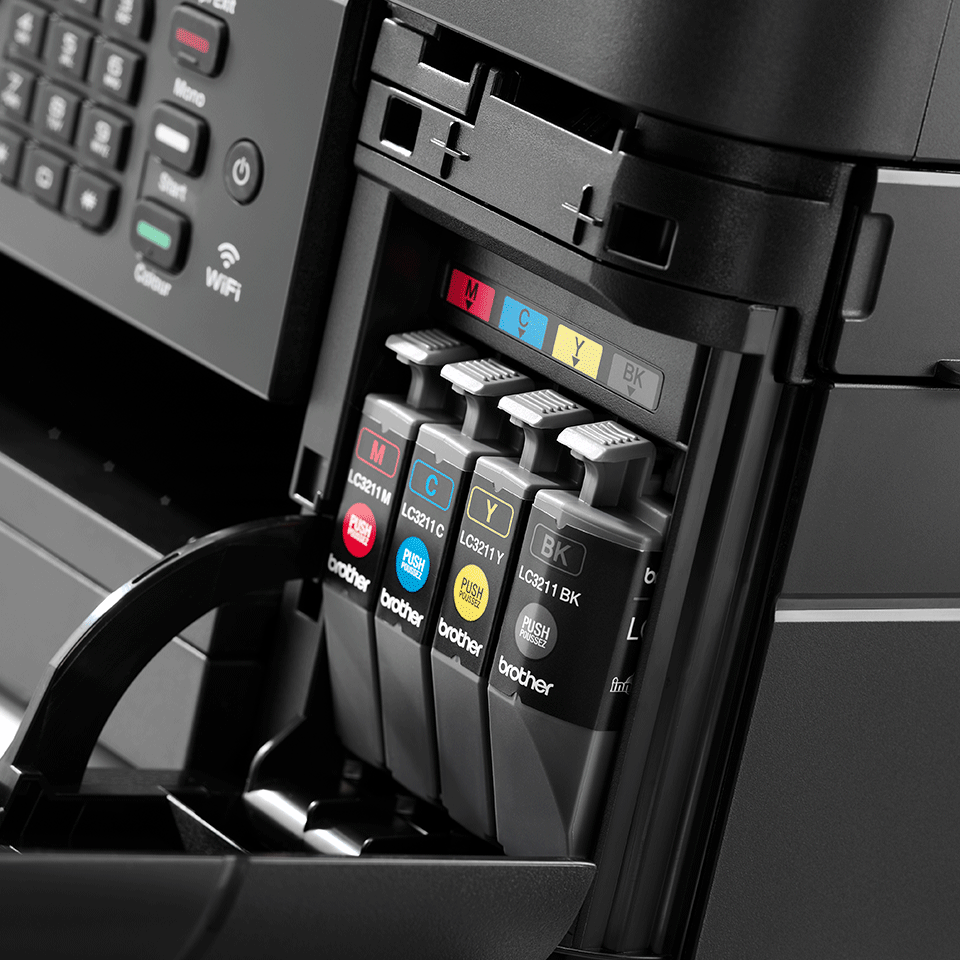 Wireless 4-in-1 Colour Inkjet Printer MFC-J491DW 6