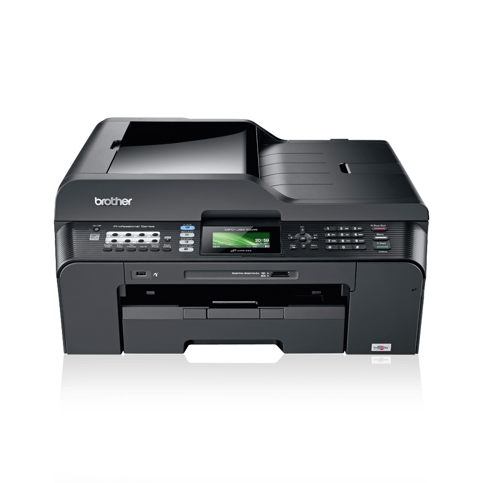 how to scan a document to email on brother printer