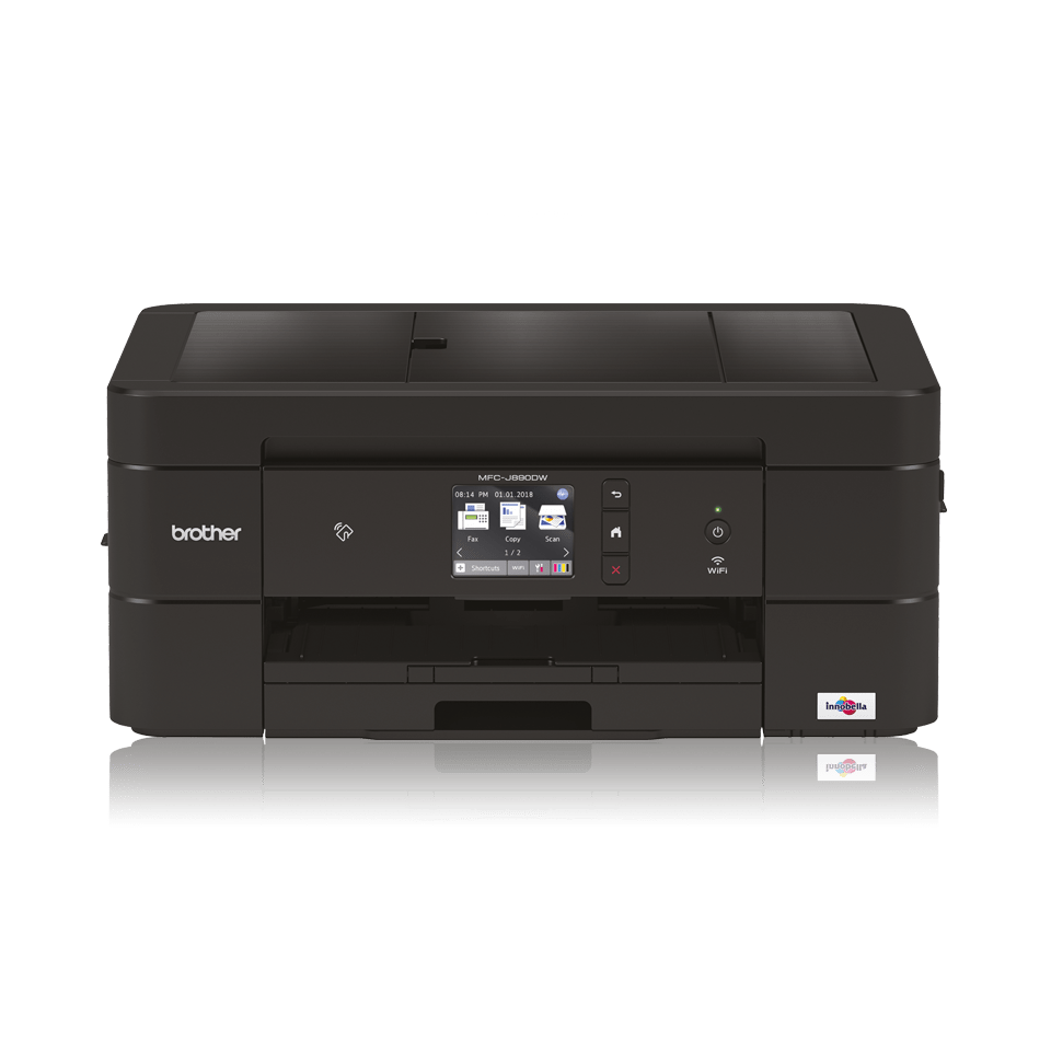 Wireless 4-in-1 colour inkjet printer MFC-J890DW