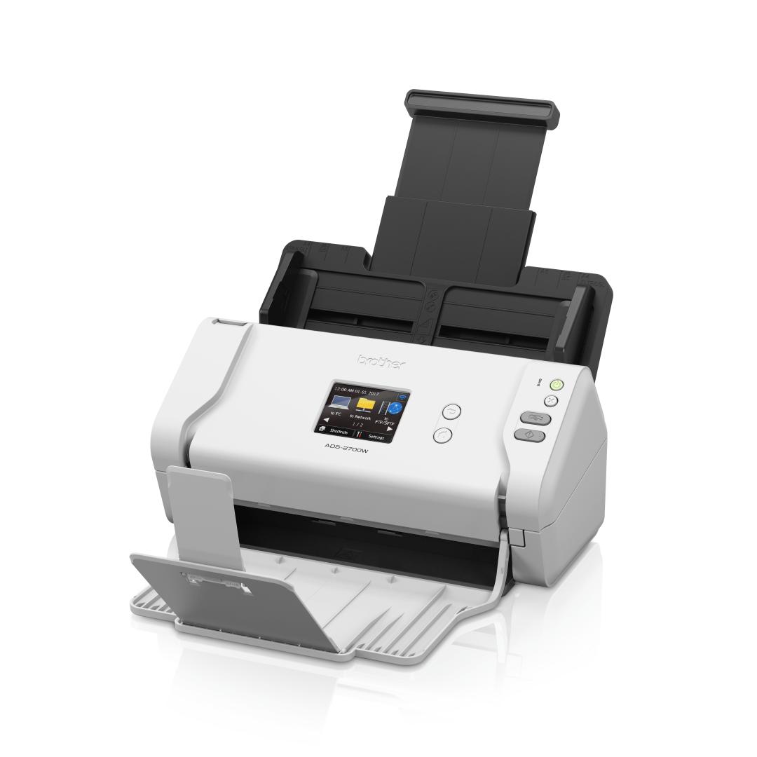 Brother ADS-2700W wireless, networked desktop document scanner