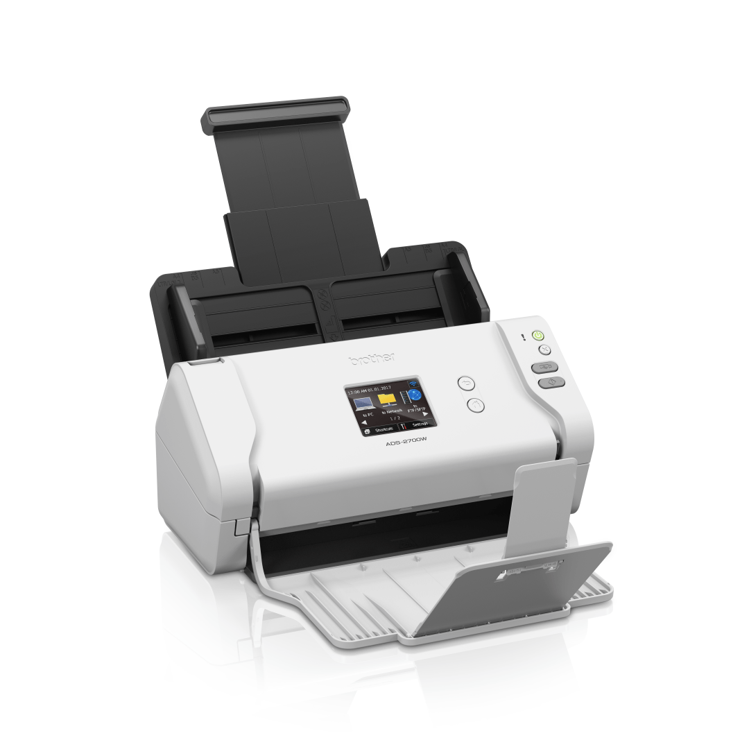 Brother ADS-2700W wireless, networked desktop document scanner 2