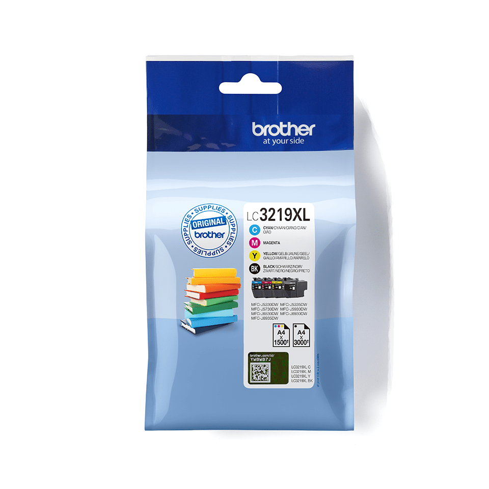 Genuine Brother LC3219XLVALBP Ink Cartridge Multipack