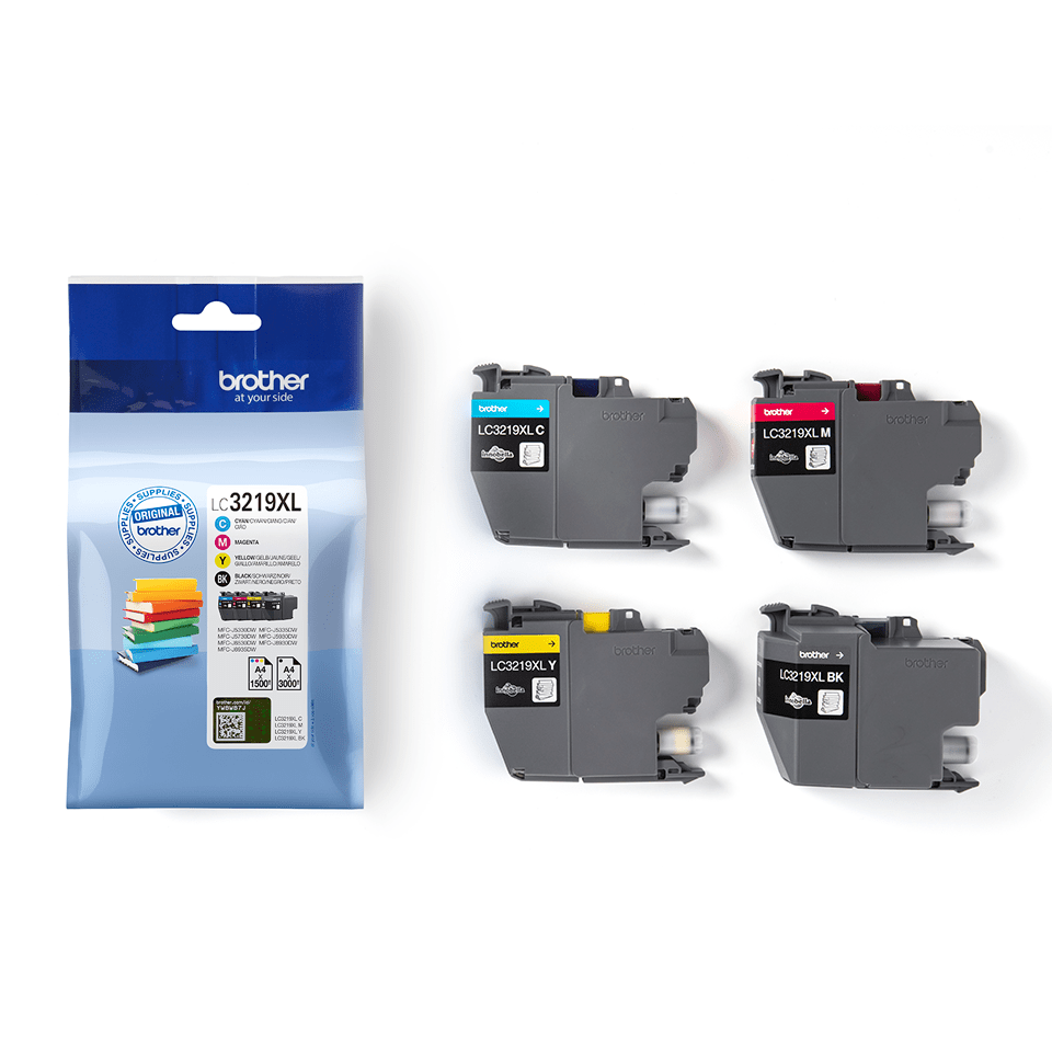 Genuine Brother LC3219XLVALBP Ink Cartridge Multipack  3