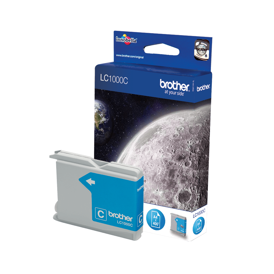 Genuine Brother LC1000C Ink Cartridge – Cyan 2