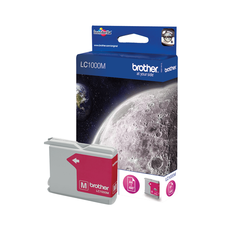Genuine Brother LC1000M Ink Cartridge – Magenta 2
