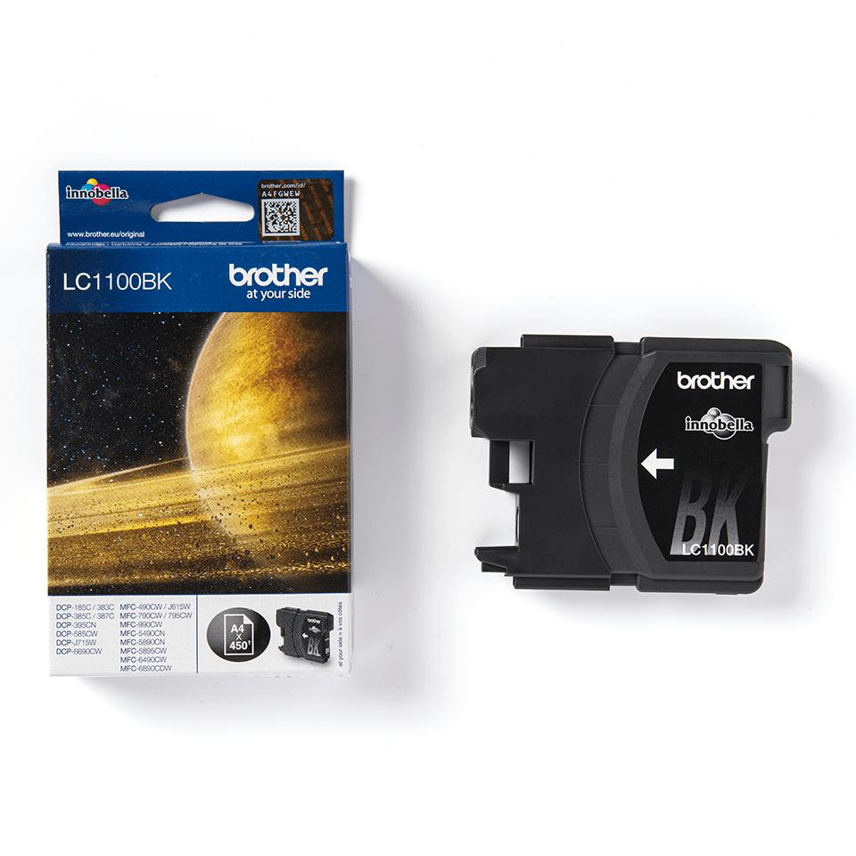Genuine Brother LC1100BK Ink Cartridge – Black 2