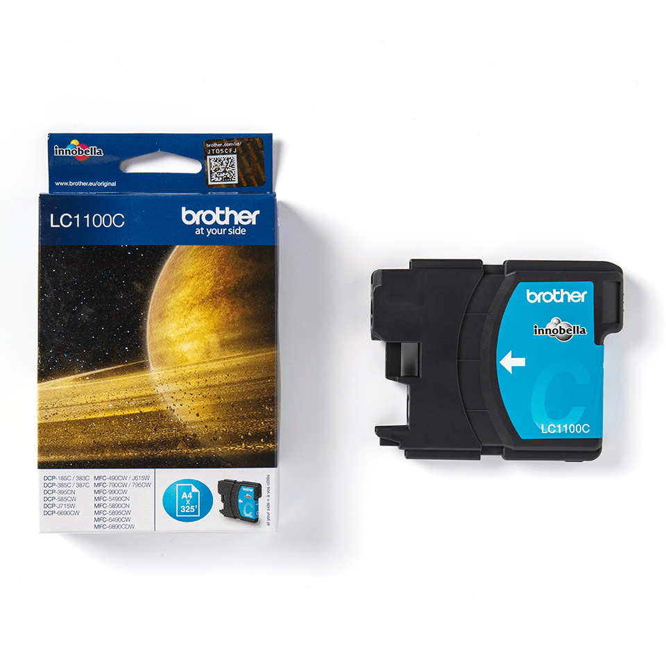 Genuine Brother LC1100C Ink Cartridge – Cyan 3