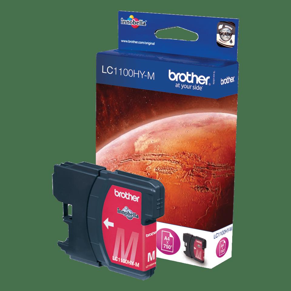 Genuine Brother LC1100HYM High Yield Ink Cartridge – Magenta