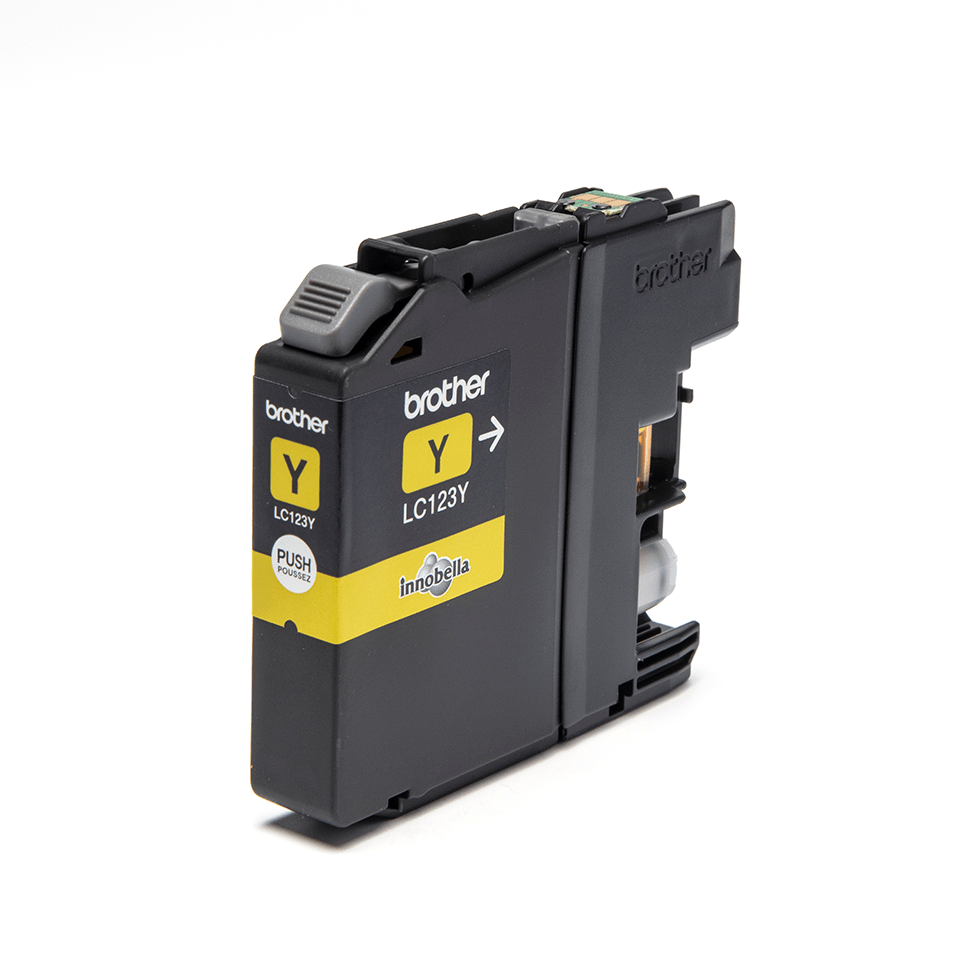 Genuine Brother LC123Y Ink Cartridge – Yellow 0