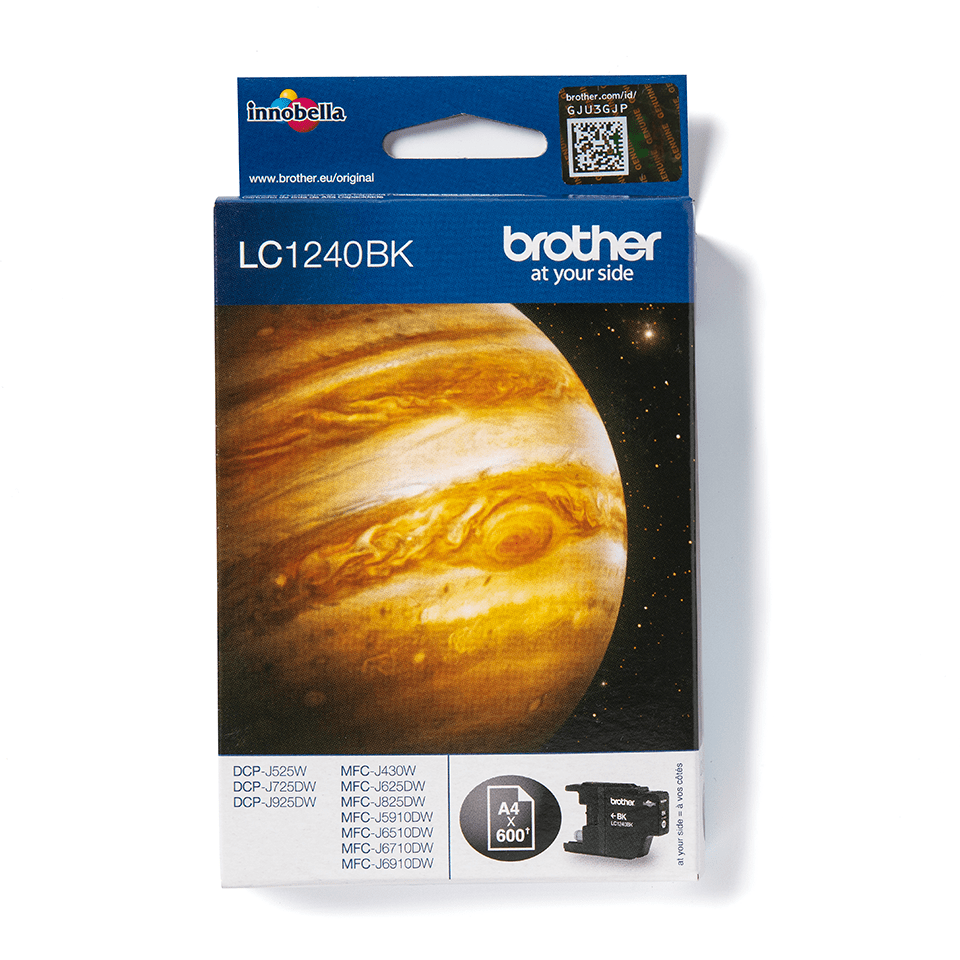 Genuine Brother LC1240BK Ink Cartridge – Black