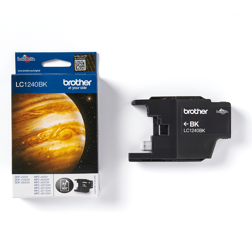 Genuine Brother LC1240BK Ink Cartridge – Black 3