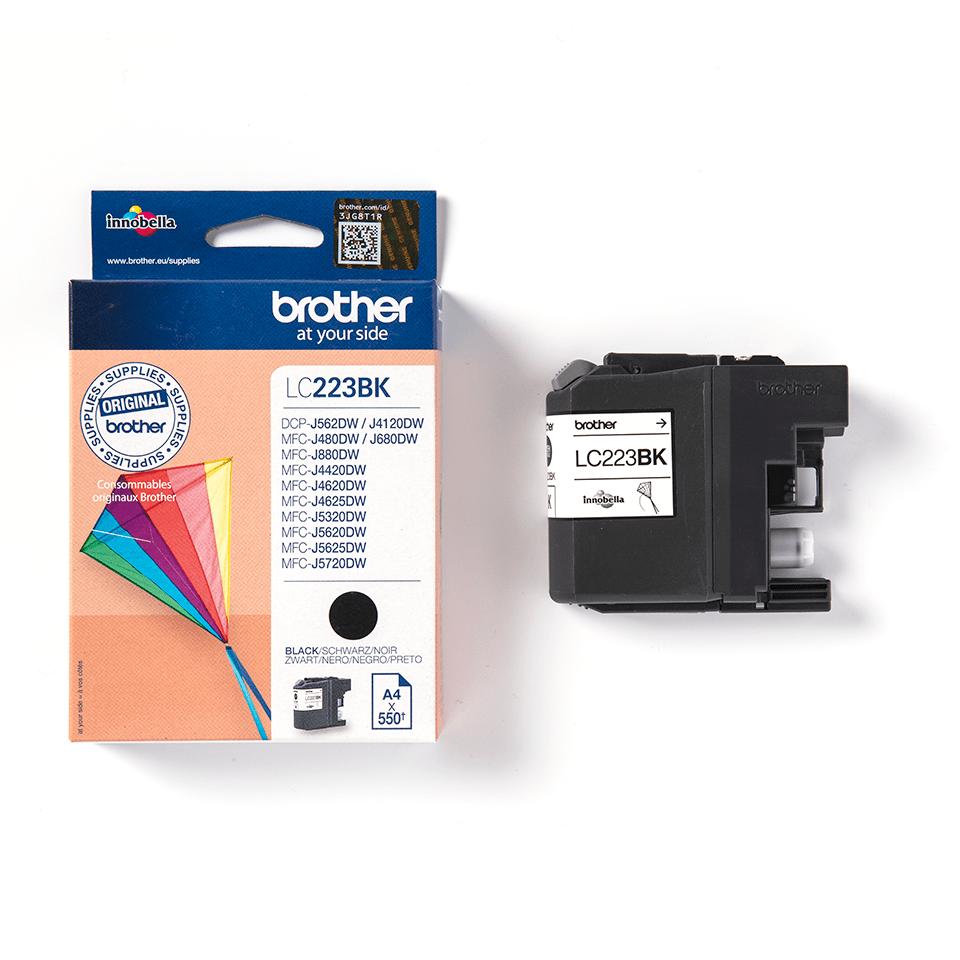 Genuine Brother LC223BK Ink Cartridge – Black 3