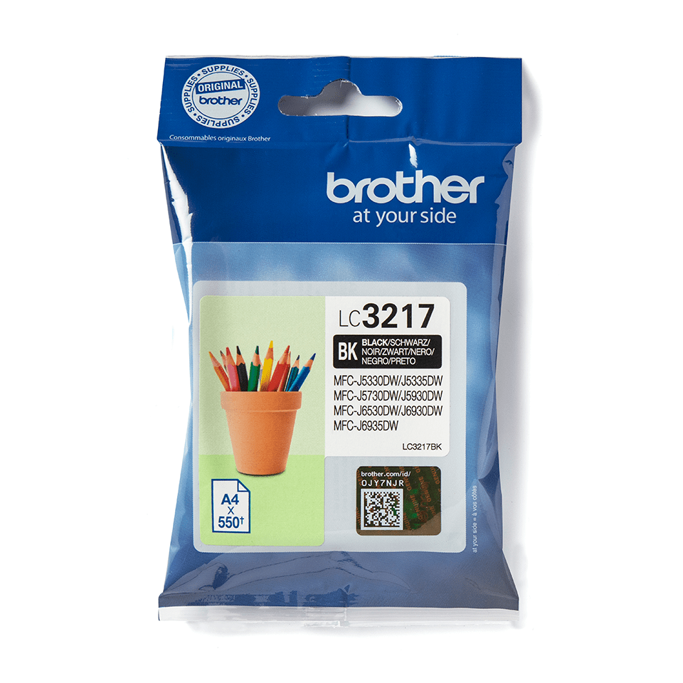 Genuine Brother LC3217BK Ink Cartridge – Black