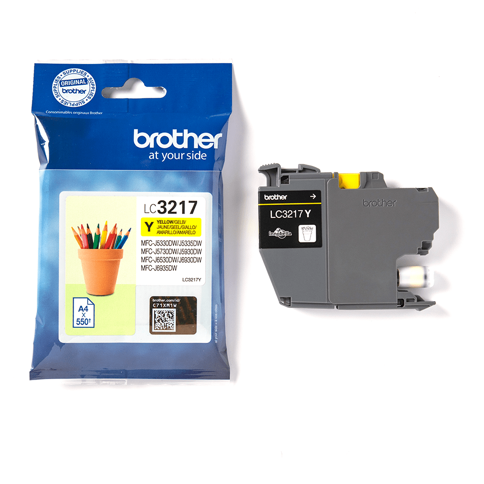 Genuine Brother LC3217Y Ink Cartridge – Yellow 3