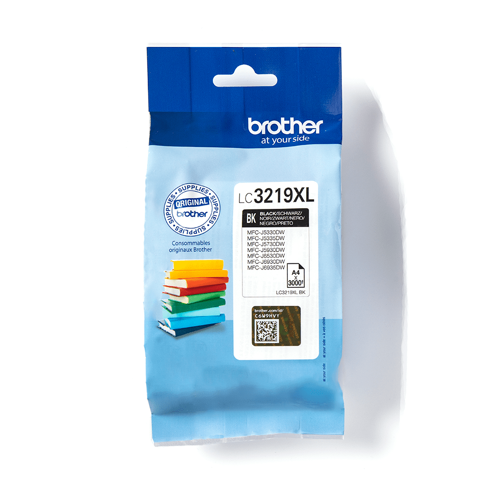 Genuine Brother LC3219XLBK High Yield Ink Cartridge – Black 2